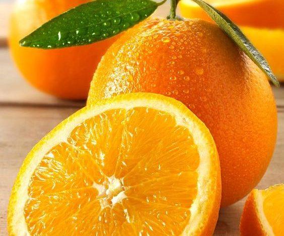 القيمة الغذائية للبرتقال