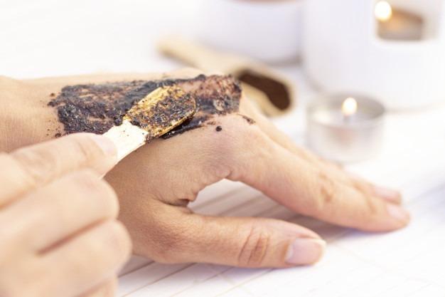 سكراب القهوة التركية للبشرة الحساسة