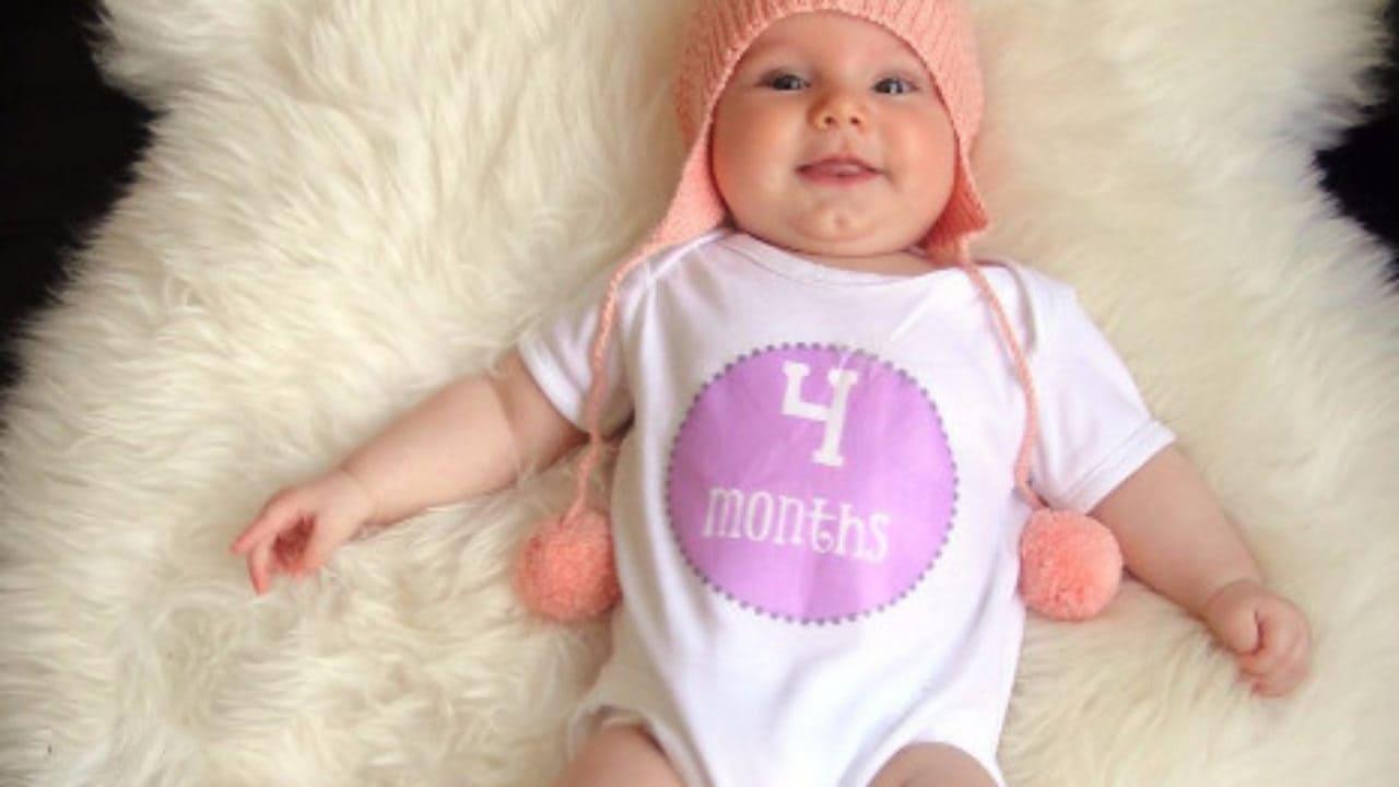 وزن الطفل في الشهر الرابع