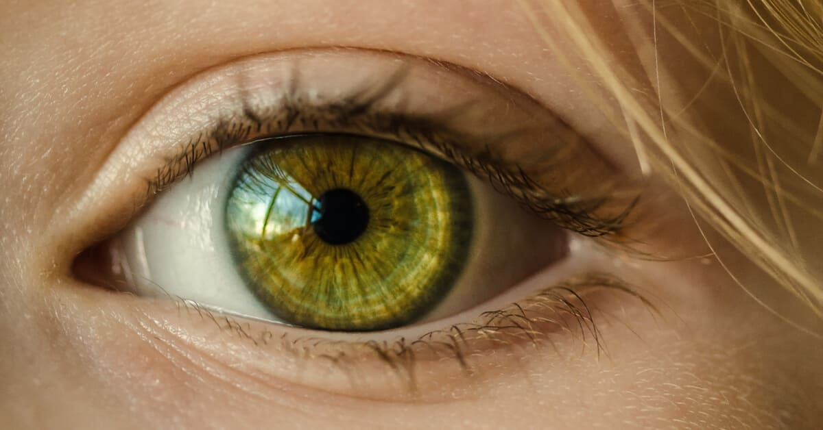 معرفة الحمل عن طريق العين
