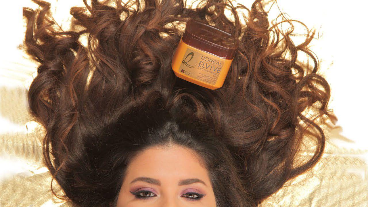 طريقة استخدام كريم تصفيف الشعر من لوريال