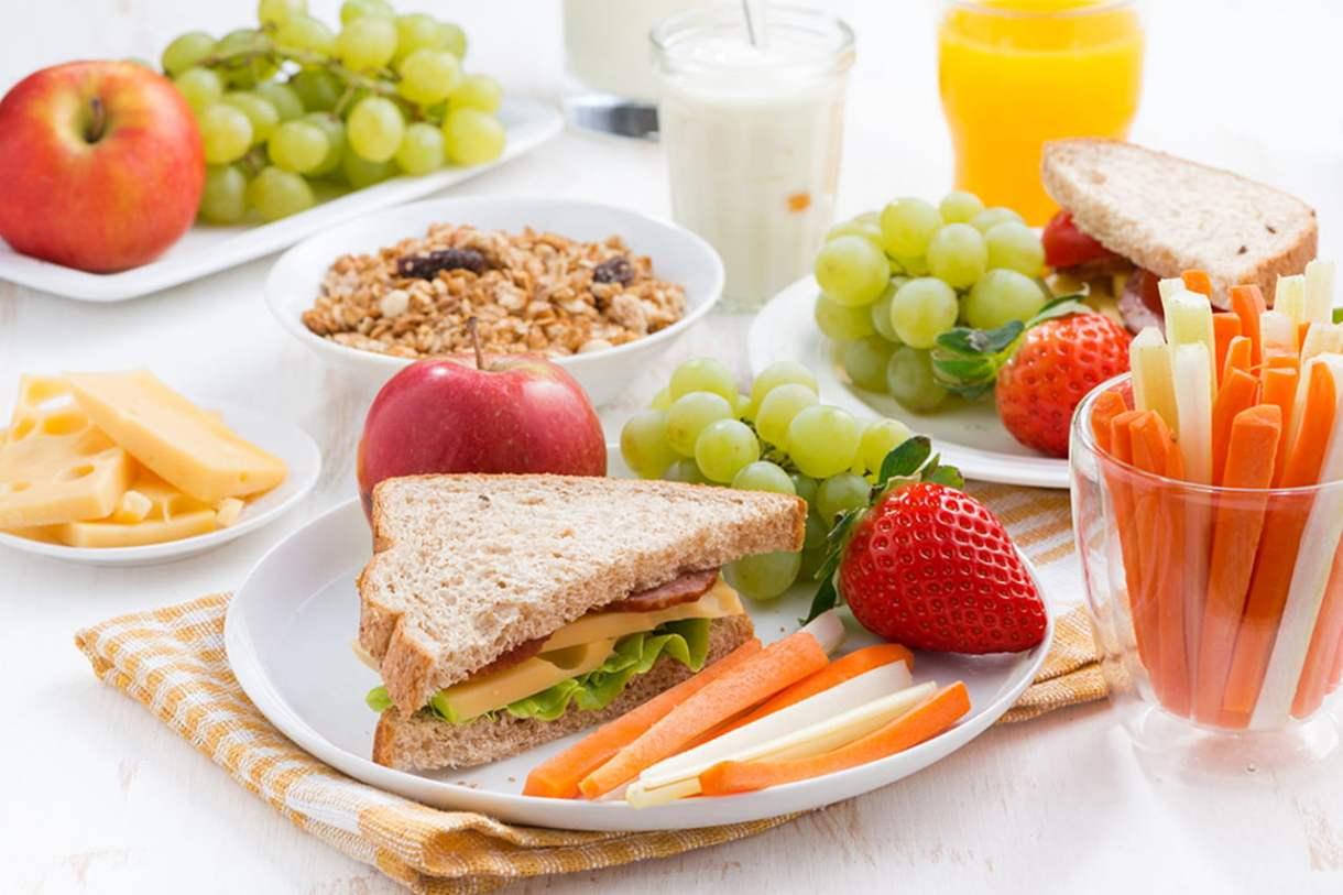 فطور صحي للمدرسة