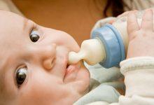 انواع حليب الاطفال