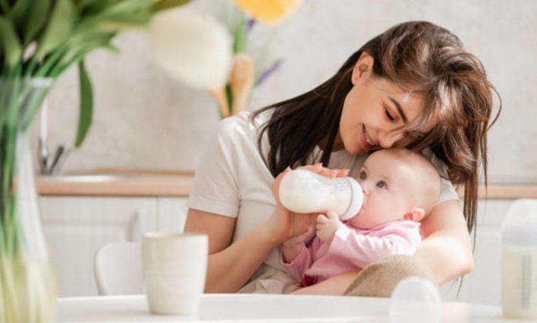 حليب الاطفال الرضع